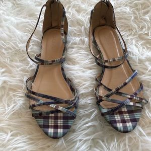 J Crew strapping sandals